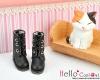 【04-01】B/P Short Shoes.Black