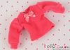 309.【NI-S16】Blythe Pullip(Puffed Sleeves)T-Shirt # Deep Pink