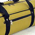 IV.70Cm Soft Nylon Carrier Bag(White Inside)# Olive
