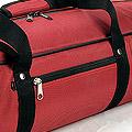 IV.70Cm Soft Nylon Carrier Bag(White Inside)# Crimson