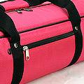 IV.70Cm Soft Nylon Carrier Bag(White Inside)# Deep Pink