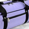 IV.70Cm Soft Nylon Carrier Bag(White Inside)# Violet