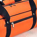 IV.70Cm Soft Nylon Carrier Bag(White Inside)# Tangelo