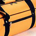 IV.70Cm Soft Nylon Carrier Bag(White Inside)# Orange