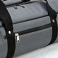IV.70Cm Soft Nylon Carrier Bag(White Inside)# Slate Gery