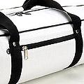 IV.70Cm Soft Nylon Carrier Bag(White Inside)# White