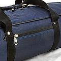 IV.70Cm Soft Nylon Carrier Bag(White Inside)# Deep Blue