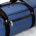 IV.70Cm Soft Nylon Carrier Bag(White Inside)# Dot/Blue
