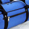 IV.70Cm Soft Nylon Carrier Bag(White Inside)# Blue