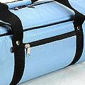 IV.70Cm Soft Nylon Carrier Bag(White Inside)# Sky Blue