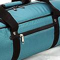 IV.70Cm Soft Nylon Carrier Bag(White Inside)# Teal