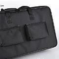 Couple Nylon Carrier Bag For 80cm # Black