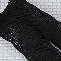 【BP-116】Blythe Pantyhose Socks # Net Black Flower