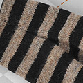 【BP-117】Blythe Pantyhose Socks # Stripe Black+ Brown