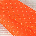 【BP-20N】Blythe Pantyhose Socks # Orange + White Dot/Net