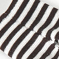 【BP-36】Blythe Pantyhose Socks # Thin Stripe Black