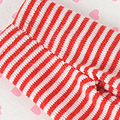 【BP-143】Blythe Pantyhose Socks # Thin Stripe Red+White