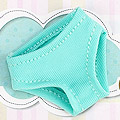 Blythe Pantyhose ( BP-18N ) Stripe Mix Yellow