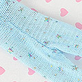 Blythe Pantyhose Socks ( BP-81N ) Net Pale Sky Blue + Star