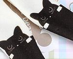 【BP-T03】Blythe Printing Pantyhose # Cats/Black