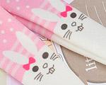 【BP-T05】Blythe Printing Pantyhose # Rabbit/Pink