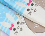 【BP-T06】Blythe Printing Pantyhose # Rabbit/Blue