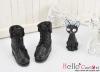 【06-01】B/P Short Shoes.Black