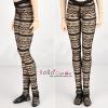 H04.【DDP-07】DD/DY Pantyhose # Lace Black
