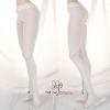 H101.【DDP-12】DD/DY Pantyhose(W3)# Smooth Thin White