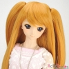 【DM-04】DD/MDD HP wigs w/Hair Pin # Yellowish-Brown