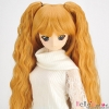 【DM-18】DD/MDD HP wigs w/Wave Hair Pin # Yellowish-Brown