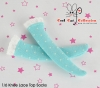 (B/P) Knee Lace Top Socks ( KS-L63 ) Point Blue