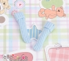【KR-16】B/P Bobby Socks # Baby Blue