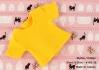 189.【NS-36】Blythe/Pullip short sleeve T-shirt(crew neck)# Golden Yellow