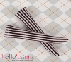B/P Knee Stocks ( KS-106 ) Vertical Thin Stripe Pink+Black