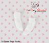 【KR-1】B/P Bobby Socks # White
