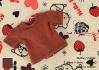 266.【NS-40】Blythe/Pullip short sleeve T-shirt(crew neck)#Chocolate