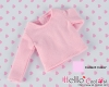 158.【NA-23】Blythe Pullip (L Sleeve) T-Shirt # Pink