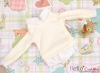 161.【NE-2】B/P Long Sleeve Layered Look Top # White