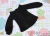 86.【NI-S17】Blythe Pullip(Puffed Sleeves)Top # Black