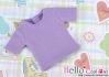 07.【NS-38N】Blythe/Pullip short sleeve T-shirt(crew neck)# Violet