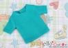 135.【NS-42】Blythe/Pullip short sleeve T-shirt(crew neck)# Teal