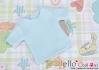 133.【NS-45】Blythe/Pullip short sleeve T-shirt(crew neck)#Baby Blue