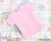 369.【NS-49】Blythe/Pullip short sleeve T-shirt(Slim Fit)# Pink