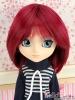"【HT-1021】8.0~9.5"" HP Short Wigs # Wind Red"