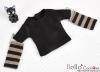 342.【NT-11】Blythe Pullip(Separate Sleeves)Tee # BK/Brown