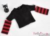 344.【NT-13】Blythe Pullip(Separate Sleeves)Tee # BK/Red