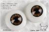 16MM/Metallic Optical Acrylic Doll Eyes (CC03) Green