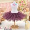 146.【PC-05】Blythe/Pullip Tulle Ball Mini Skirt # Violet