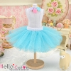 152.【PC-09】Blythe/Pullip Tulle Ball Mini Skirt # Sky Blue